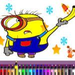 Colorir Minions online