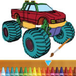 Colorir Monster Truck