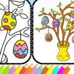 Colorir desenhos da Páscoa