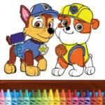 Colorir Patrulha Canina