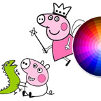 Colorir Peppa George