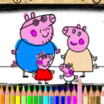 Colorir Peppa Pig