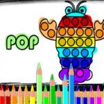 Desenhos para Colorir Pop It