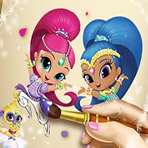 Colorir Shimmer e Shine