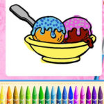 Colorir Sorvetes