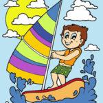 Colorir Desenhos de Verão