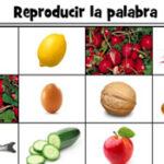 Quebra-cabeça com Comida em Espanhol