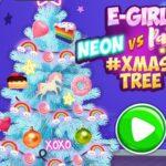 Concurso de Árvores de Natal: Geek vs. Neon