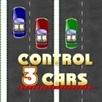 Conduza 3 carros ao mesmo tempo