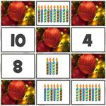 Contagem e Emparelhamento de Números no Natal