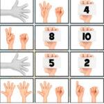 Conte seus dedos e memorize