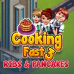 Cooking Fast 3: Costelas e Panquecas