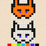 Cópia de Desenhos de Pixel: Simetria Translacional