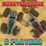Corrida de carros Monster Truck para 2 jogadores