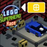 Corrida de Super-Heróis de Lego