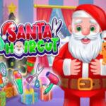 Cortar o Cabelo do Papai Noel