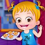 Cozinhando com Baby Hazel