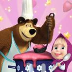 Cozinhar com a Masha e o Urso