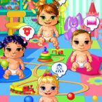 Cuidando de 4 bebês no berçário