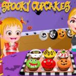 Cupcakes de Halloween com Baby Hazel