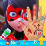 Curar a Mão da Ladybug