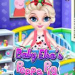 Decore o quarto da Elsa com Peppa Pig