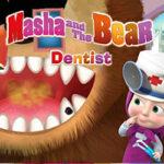 Dentista com Masha e o Urso