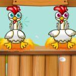 Desafio com os amigos: pôr ovos