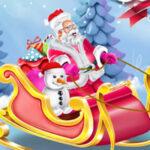 Desenhar o trenó do Papai Noel
