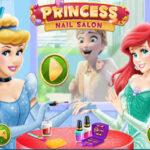Desenho de Unhas de Princesa