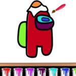 Desenhos de Among Us para colorir