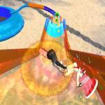 Deslizamento Aquático 3D