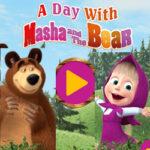 Um dia com a Masha e o Urso