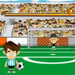 Disparar faltas no futebol