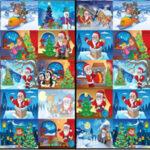 Encontrar Desenhos Diferentes de Natal