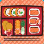 Encontrar diferenças em desenhos de Sushi