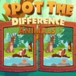 Encontrar Diferenças em Desenhos de Animais