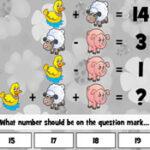 Ensinar Equações às crianças na Primavera