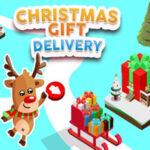 Entrega dos presentes no Natal
