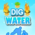 Escavando a água