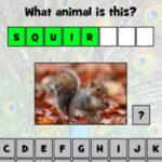 Escrever Animais em inglês
