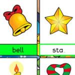 Escrevendo em inglês Palavras de Natal