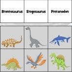 Aprenda a Espécie de Dinossauros