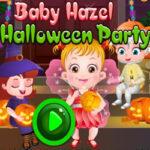 Festa de Halloween com Baby Hazel