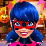 Festa de Halloween da LadyBug