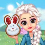 Festa da Páscoa: vestir e maquiar as princesas