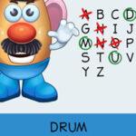 Forca Mr Potato Em Inglês
