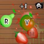 Fruit Slash: Letras do teclado