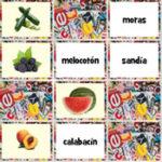 Frutas e legumes em espanhol
