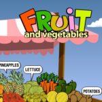 Frutas e Legumes em Inglês